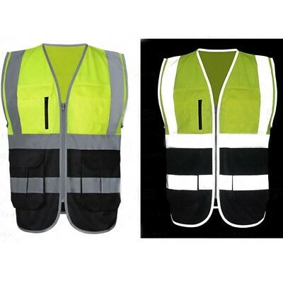 Best Safety Security Visibility Reflective Vest Construction Traffic Warehouse