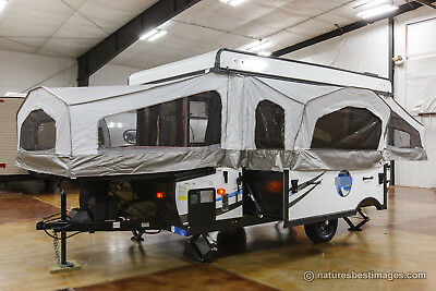 New 2017 Model RLT12STS Real Lite Pop-Up Fold Down Camping Trailer Never Used