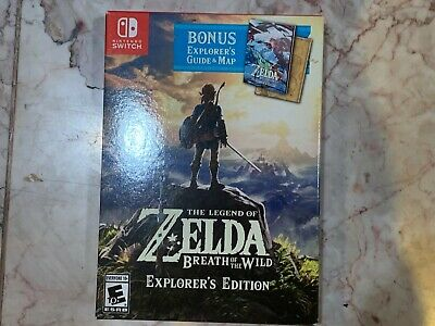 Legend of Zelda: Breath of the Wild -- Explorer's Edition Nintendo Switch