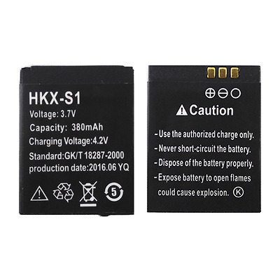 HKX-S1 battery smart watch phone 380mAh battery long time standby battery HKX-S1