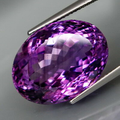 18.97Ct.Real 100%Natural BIG Amethyst Bolivia None Treatment Full Sparkling!