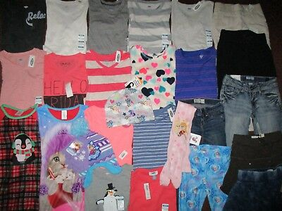 NWT'S Girls Size 6-7 FALL WINTER SCHOOL Lot Clothes & Outfits Old Navy  NEW!