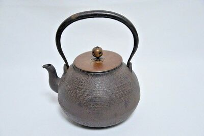 Japanese high-quality iron kettle TETSUBIN with good taste and work From Japan