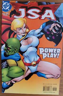 JSA #39 (2002) Power Girl Morales Johns Goyer VF+ Combined Postage Available