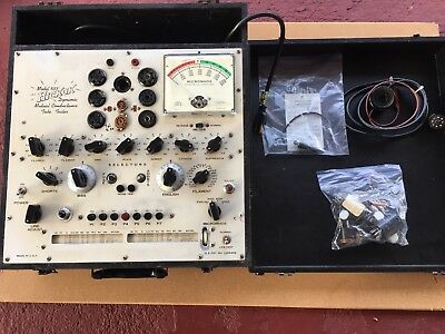 Vintage Hickok 533A Vacuum Tube Tester Dynamic Mutual Conductance Amp Amplifier