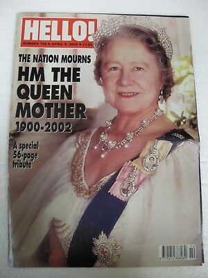 Hello Magazine - April 9 2002 - Queen Mother tribute