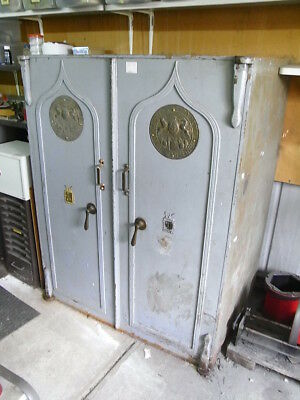 Milners Large Antique 2 Door Safe