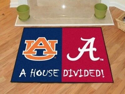 Alabama - Auburn House Divided Rugs 90cm x 110cm. StarSun Depot. Huge Saving