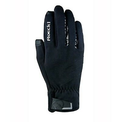 (8, Black) - Roeckl Westlock Unisex Gloves. Toklat Originals. Best Price
