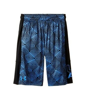 (Youth Small, Water) - Under Armour Boys' Instinct Printed Shorts. Unbranded