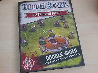Blood Bowl Spielfeld Elven Union Pitch *Neu* Elfen Elfheim Eagles