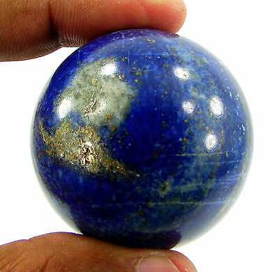 804.30 Ct Natural Blue Lapis Lazuli Gemstone Sphere Ball Healing Crystal - 10246