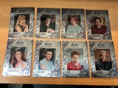 Buffy The Vampire Slayer Set Series 3 Set Of Metal Cards MR1-MR8
