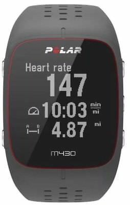 Polar M430 Gps Running Watch with Wrist-Based Heart Rate - GREY - NEW UK
