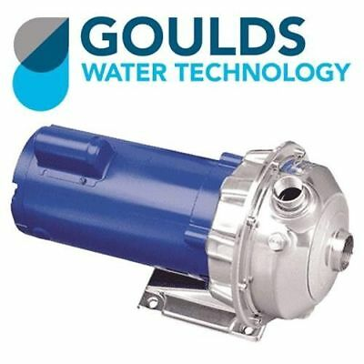 Goulds 3-Phase Centrifugal Pump 2HP, 3500RPM, 230/430V - 1ST1G2A4