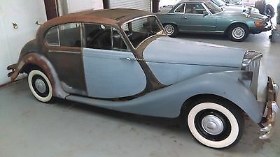1949 Other Makes G80  MAKE OFFER 1949 JAGUAR BARN FIND SURVIVOR MARK 5 1949 JAGUAR SALOON 48 50 51 52