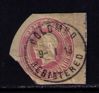 "CEYLON 1913 Stamp,KGV,Used ""Colombo Registered"" Cancel"