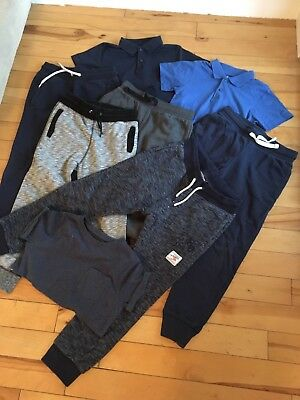 Boys Jogging Bottom Polo Shirt Bundle H&M Age 8