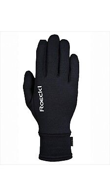 (8, Black) - Roeckl - Winter Polartec riding gloves WELDON. Free Shipping