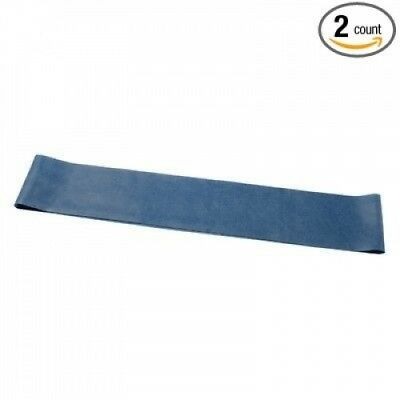 25cm Band Exercise Loop [Set of 2] Size / Colour: Heavy / Blue. Cando