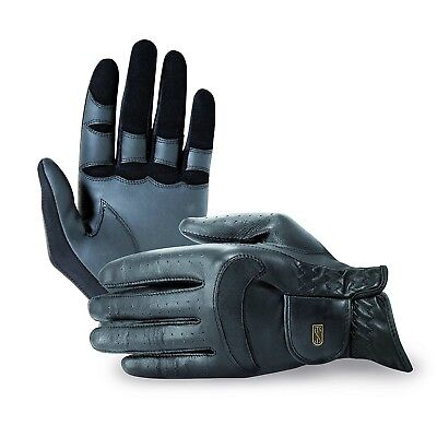 (6, Black) - Tredstep Dressage Pro Glove. Free Delivery