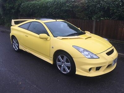 Toyota Celica 1.8Vvti Runs Spares Or Repair P/x To Clear Jap Import