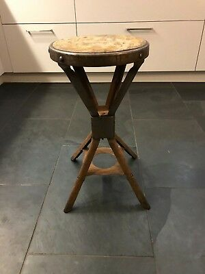 Vintage 1950's Factory Machinist Stool possibly Evertaut (3 for sale Dorset)