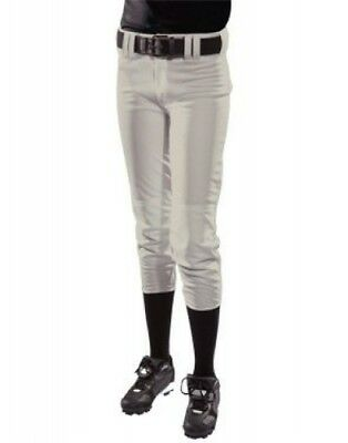 (Medium, Silver) - Girls' Low Rise Polyester Pant. Teamwork. Brand New