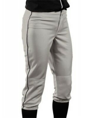 (Small, Silver/Black) - Girls' Low Rise 350ml Polyester Pant. Teamwork