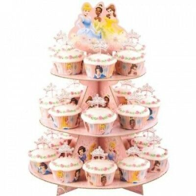 (1, Pink) - Disney Princess Cupcake Stand Kit. wilton. Huge Saving