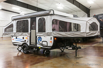 New 2017 RLT12FD Lite Fold Down Pop Up Camping Trailer Never Used Lowest Price