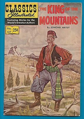 Classics Illustrated Comic 1968 King of the Mountains   #788