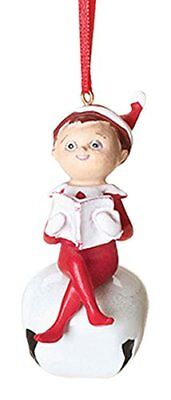 "ROMAN INC 35176 2.75"" Elf On The Shelf Elf Is Hidden Throughout Christmas Decor"