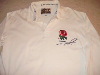 Jack Nowell Signed England Rugby Shirt