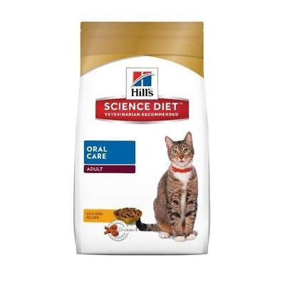 Hills Feline Oral Care 4kg cat food for teeth