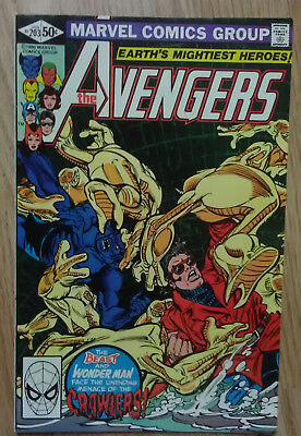 Avengers Vol 1 #203 (1981) Lee Shooter Infantino Micheline VF+ Combined P&P