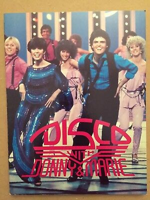 Disco With Donny and Marie (1979, Paperback) Osmond