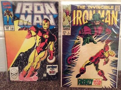 The Invincible Iron Man #5  and Iron Man #256