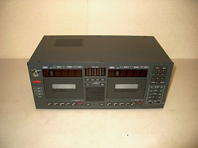 Lanier Lcr-5 Dual Cassette Dictation Machine (Recorder)