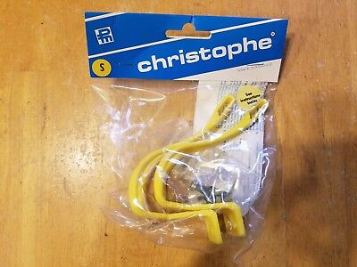NOS Christophe Toe Clips.....Road Bike Pedals...France..Chrome...Trusted Seller