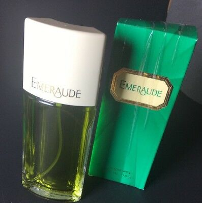Emeraude CLASSIC FRAGRANCE Vintage by Coty Paris NY NEW 2.5 Oz