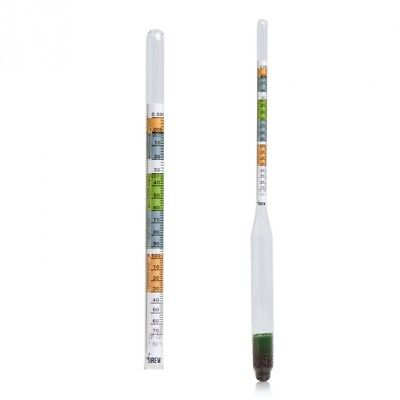 Brew Tapper Triple Scale Hydrometer - Perfect for Beer and Wine - A Must-have