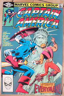 Captain America #267 (1982) Avengers Shooter DeMatteis VF+ Combined P&P