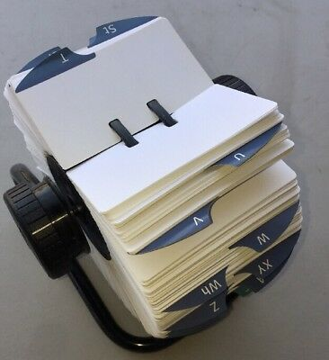 Rolodex Rotary Card File. New. Large