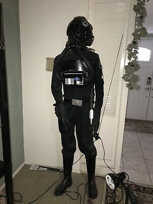Star Wars prop Tie Fighter Pilot Armor set costume this is a complete costume