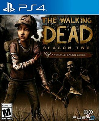 Playstation 4 Ps4 Game The Walking Dead Season 2 Factory Sealed Brand F/S F