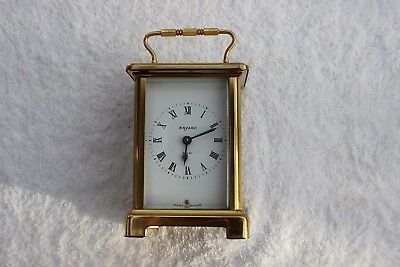 Vintage Bayard French-Brass Carriage-Clock by Duverdry-and-Blouquel