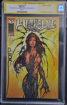 Witchblade #25 CGC 9.6 Signed by Turner & Wohl (Aug 1998, Image)