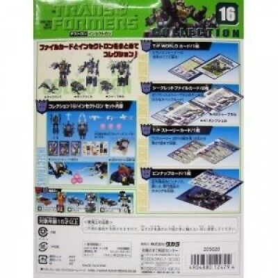 Transformers Collection 16 Figure - Insection Box Set. Takara. Shipping is Free
