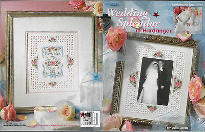 Wedding Splendour in Hardanger with Cross Stitch book by Julia Lucas embroidery